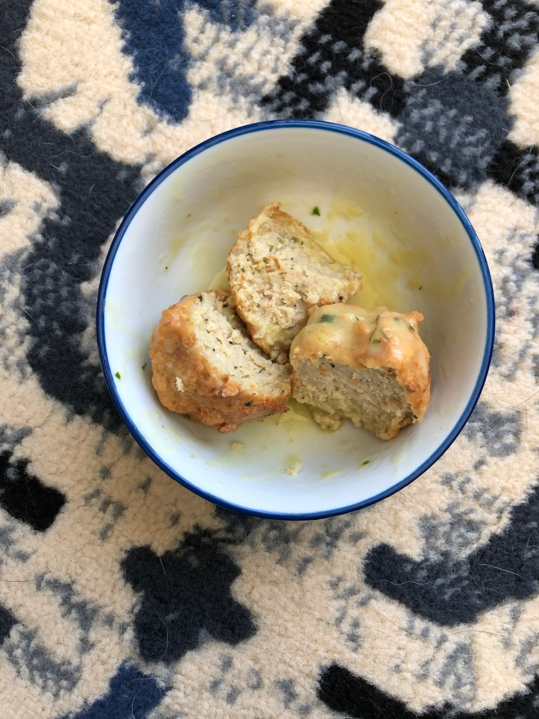 chicken francese meatballs