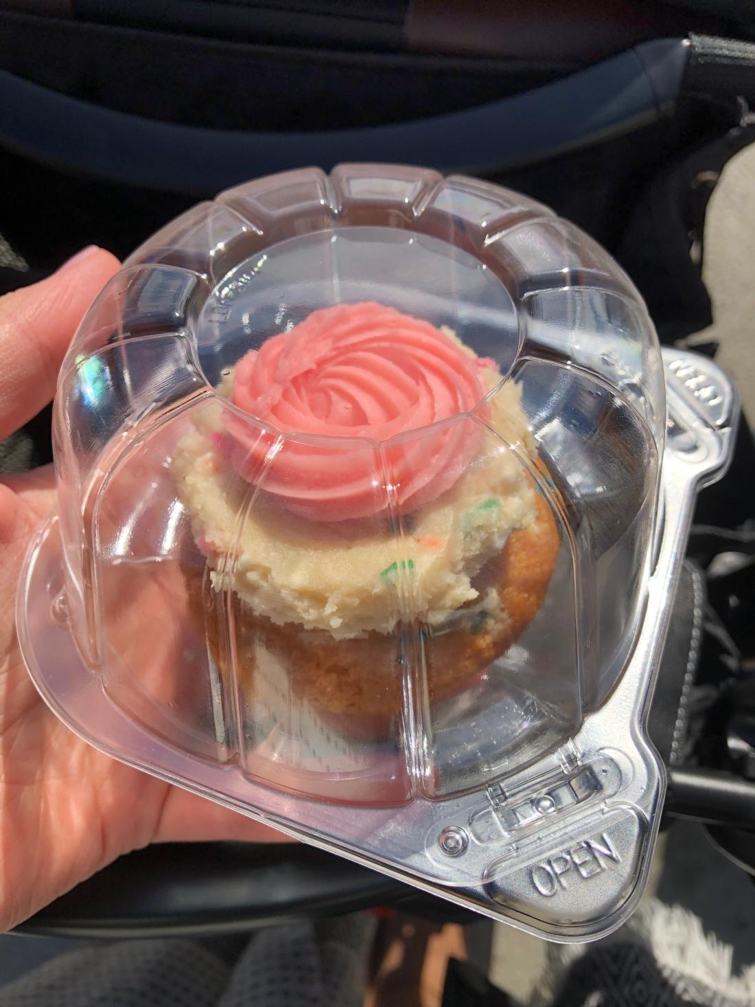 funfetti cupcake