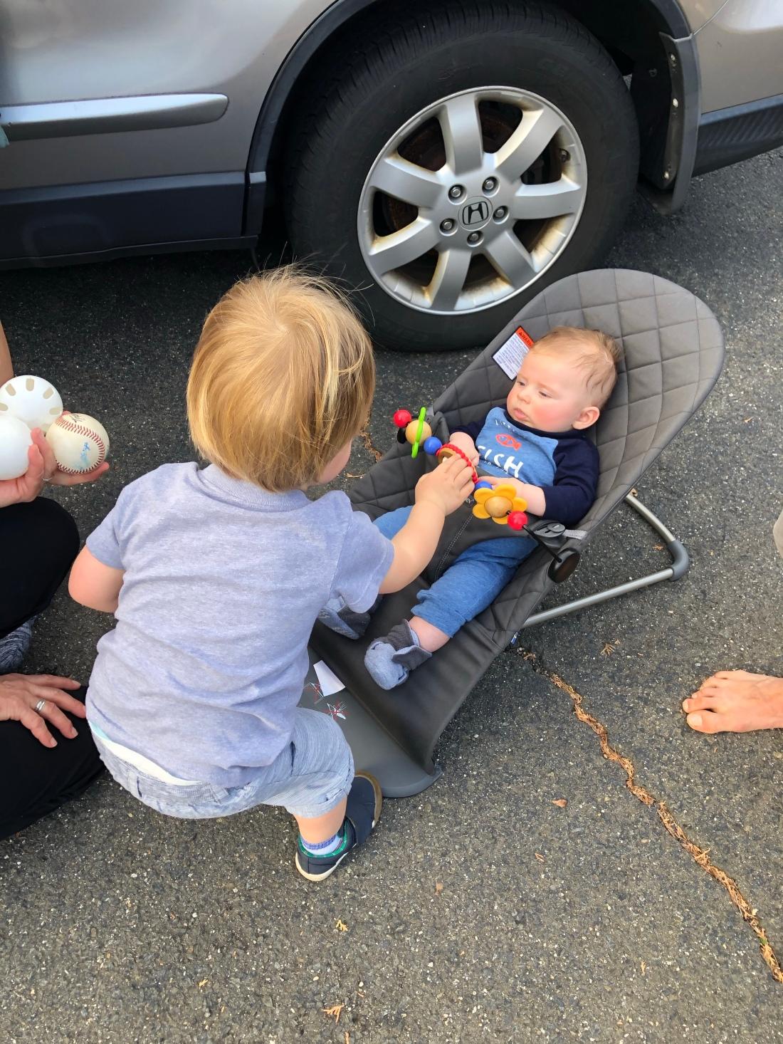 blog baby cousins babybjorn
